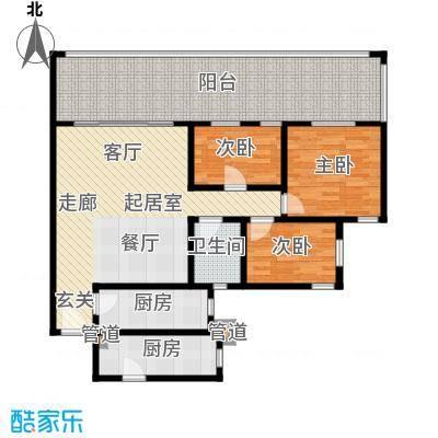 祈福新村青怡居J2栋2户型