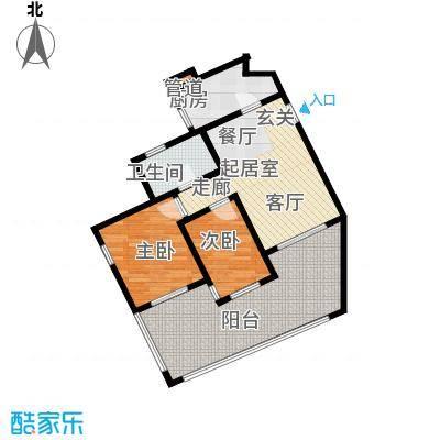 祈福新村青怡居J6栋2户型