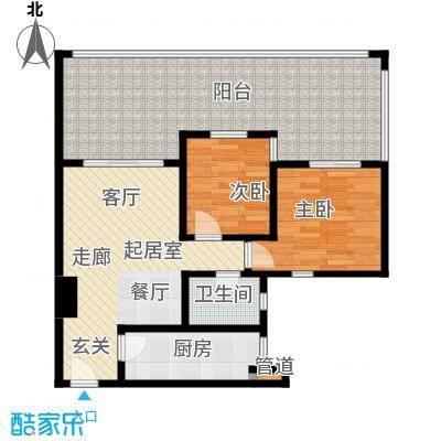 祈福新村青怡居J1栋2户型