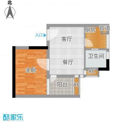 华景新城芳满庭园42.00㎡面积4200m户型