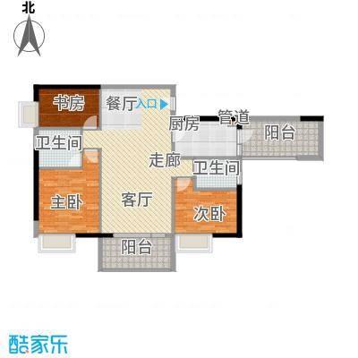 淘金家园108.40㎡3面积10840m户型