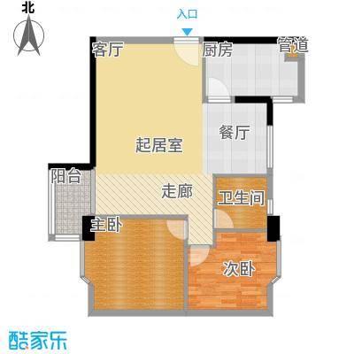 赛拉维89.31㎡A2栋7单位面积8931m户型
