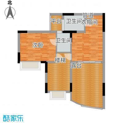 海龙湾水溢轩2梯复式户型