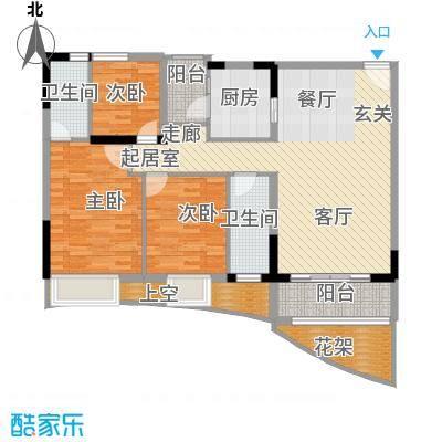 会展西岸112.33㎡凤浦西苑A2栋04面积11233m户型