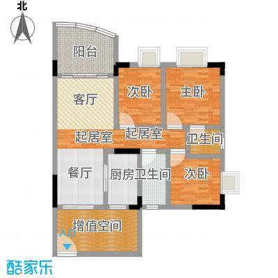 万虹花园100.20㎡三期C7栋05单位面积10020m户型