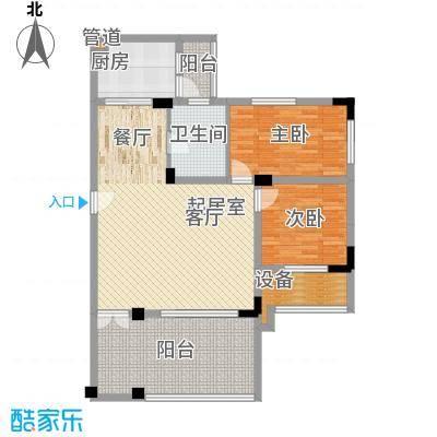 华南碧桂园别墅91.87㎡17座102单面积9187m户型