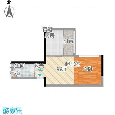 东鸣轩48.94㎡A栋10-29层81面积4894m户型