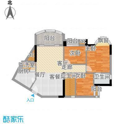 广州白天鹅花园100.00㎡浪漫雅筑面积10000m户型