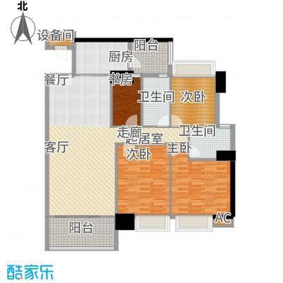 东海嘉园130.05㎡C塔4-11层1单位面积13005m户型