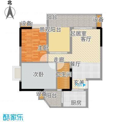 江南新苑100.00㎡A1栋03单元面积10000m户型
