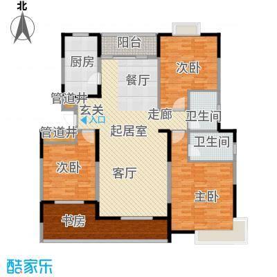 鑫苑碧水尚景150.00㎡面积15000m户型