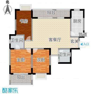 鑫苑碧水尚景118.00㎡面积11800m户型