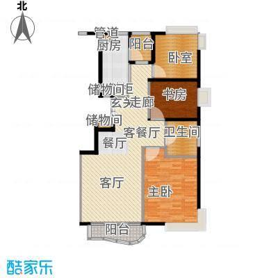 芳草轩95.00㎡面积9500m户型