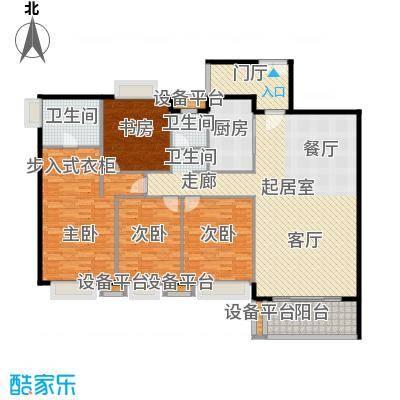 潭村改造项目174.30㎡I户型