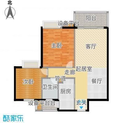 潭村改造项目93.80㎡E户型
