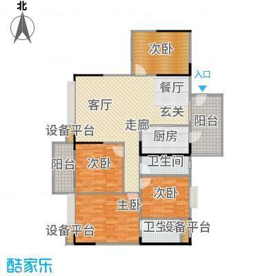 汉中紫薇苑142.00㎡汉中・紫薇苑翠薇阁F户型