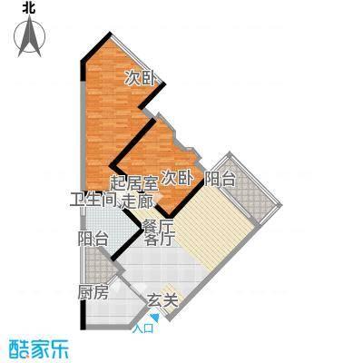 东浚荔景苑100.00㎡面积10000m户型