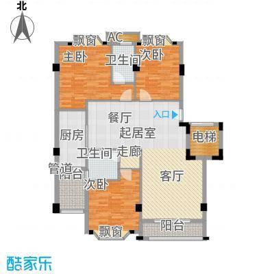 亚太新城125.00㎡E02、E15面积12500m户型