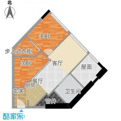 瑞安花园70.00㎡二期国际公寓C户型