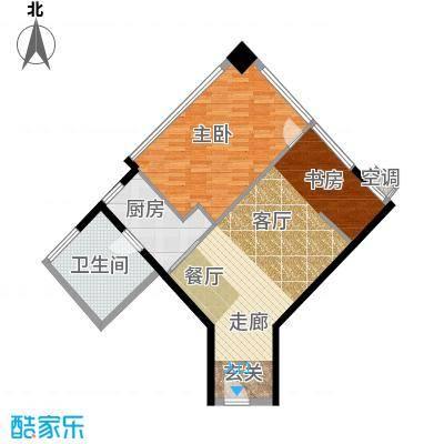 瑞安花园81.00㎡二期国际公寓D户型