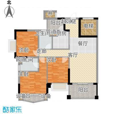 锦绣新天地111.48㎡11座05、0面积11148m户型