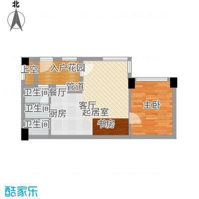 碧桂园空港国际57.00㎡D户型