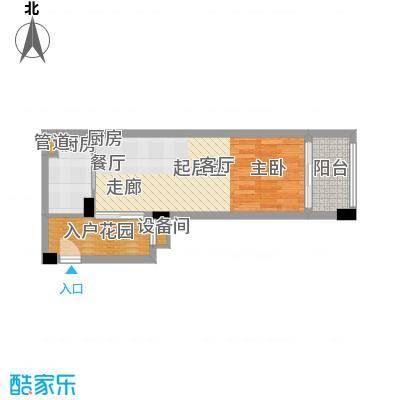 碧桂园空港国际51.00㎡E户型