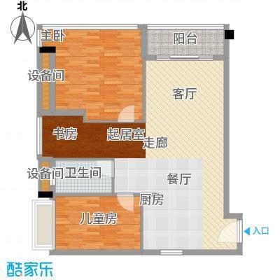 碧桂园空港国际92.00㎡平层A1户型