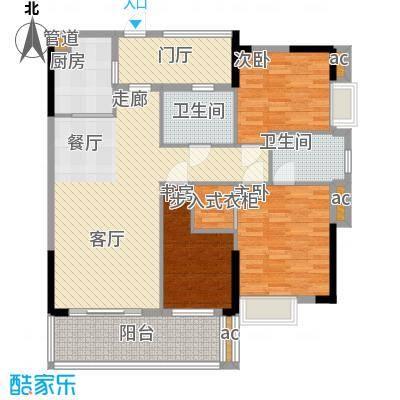 龙津世家131.00㎡A01户型