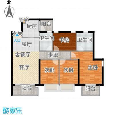 天韵瑚璟122.61㎡天韵・瑚�一期19/20栋C2户型