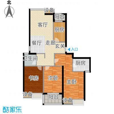 中建文化城144.00㎡8#号楼C2面积14400m户型