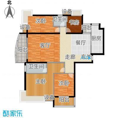 中建文化城179.00㎡6#号楼D面积17900m户型