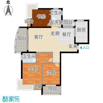 中建文化城152.00㎡7#号楼C1面积15200m户型