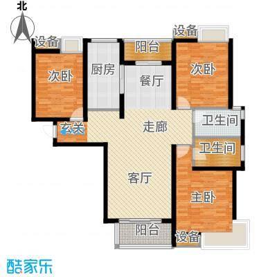 中建文化城139.00㎡6#7#号楼B1户面积13900m户型