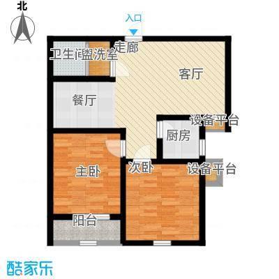 锦绣泉城89.00㎡(已售完)面积8900m户型