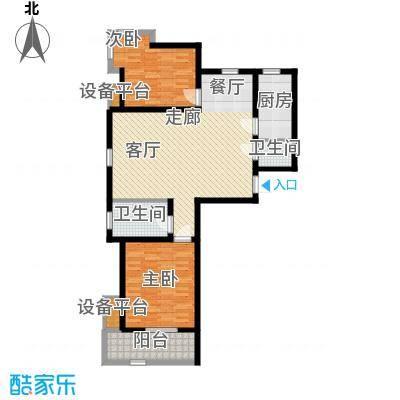 锦绣泉城95.57㎡13#3-H(售完)2面积9557m户型