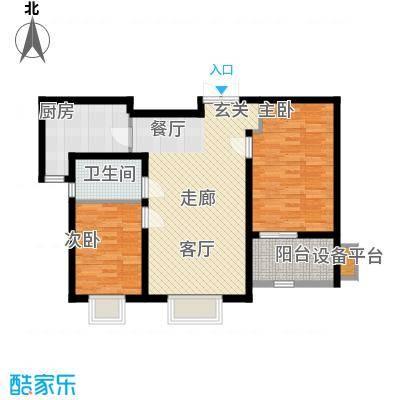 锦绣泉城87.16㎡面积8716m户型