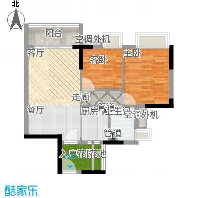 邦华翠悦湾项目69.00㎡01户型
