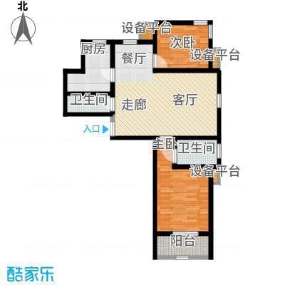锦绣泉城13栋1-A(售完)户型