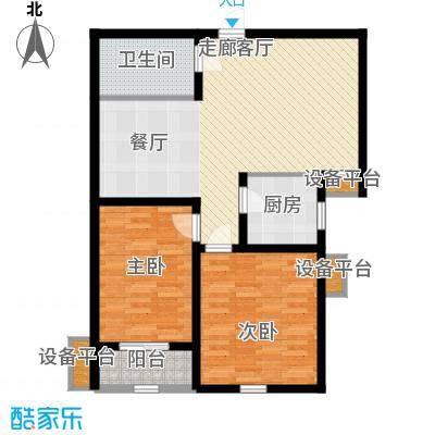 锦绣泉城13#1C2C(售完2户型