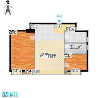 凤乐雅轩92.00㎡A栋01户型