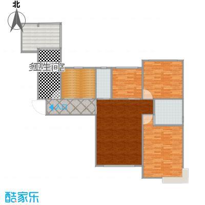 装修方案2_138平二期04户型3室1厅1厨2卫1露台