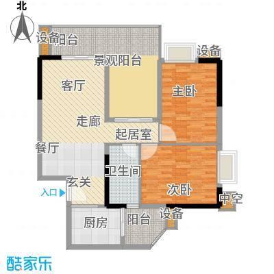 江南新苑100.00㎡A2栋05单元面积10000m户型