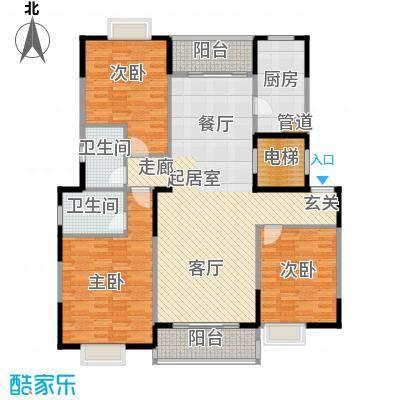 鑫苑碧水尚景144.00㎡面积14400m户型