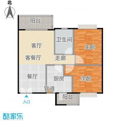 天韵瑚璟82.30㎡天韵・瑚�一期19/20栋A4户型