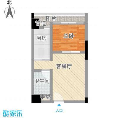 佳润云凯雅寓41.00㎡16户型