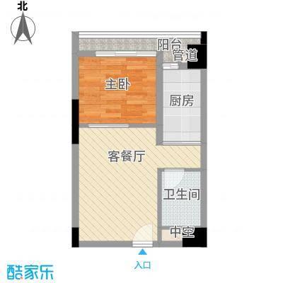 佳润云凯雅寓41.00㎡15户型