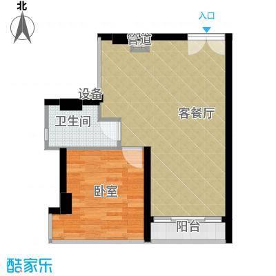 佳润云凯雅寓54.00㎡10户型