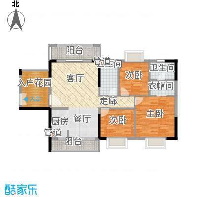 富盈公馆115.00㎡15栋02户型