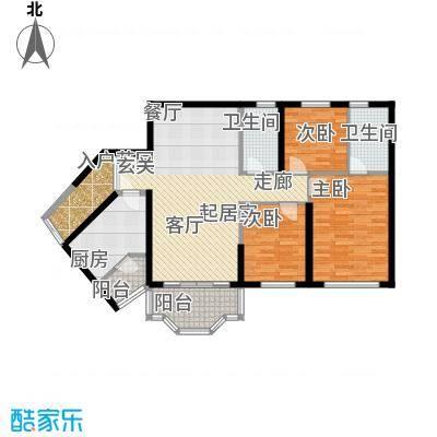 祈福新村104.26㎡活力花园12座08面积10426m户型